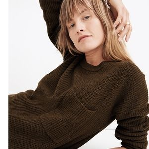 Madewell Thompson Pocket Pullover Sweater - NWT!